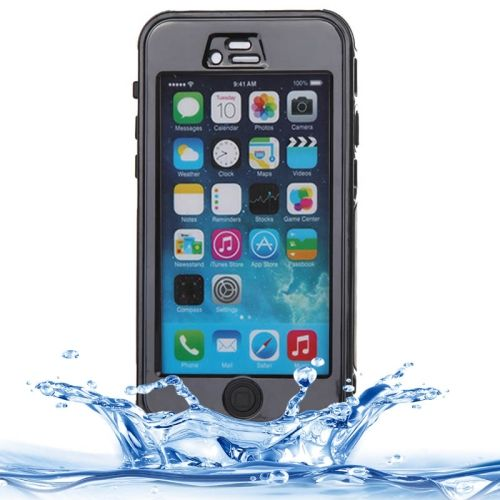 [€5.12] ABS Material Waterproof Protective Case with Button & Touch Screen Function for iPhone 6 & 6S(Black)