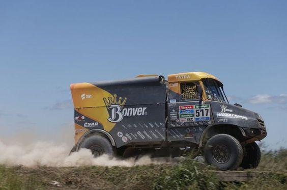 Baja Aragon 2018 Camion Ganador Bonver Dakar Team