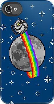 Nyan Space Core  iPhone case