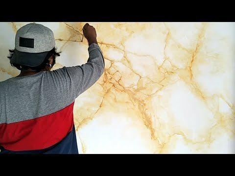 Tutorial Motif Marmer Warna Kuning Yellow Marble Painting Youtube Painting Desain Warna