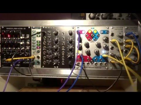 Automatic Chord Generation with Simple Eurorack Setup and External FX