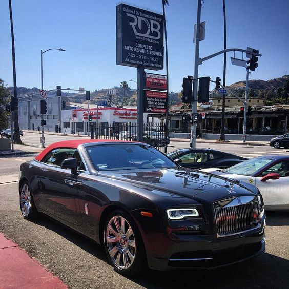 Gorgeous Custom Bentley: Beautiful Rolls Royce Dawn. #RDBLA #RDB #RollsRoyce #Dawn