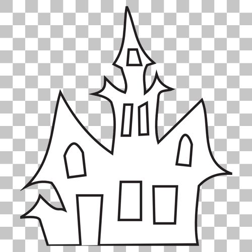 Haunted House Png Image With Transparent Background In 2020 Png Images Transparent Background Stock Images Free