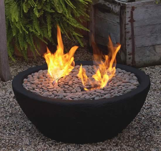 Fireplaces tables and ceramics on pinterest for Outdoor fire bowl