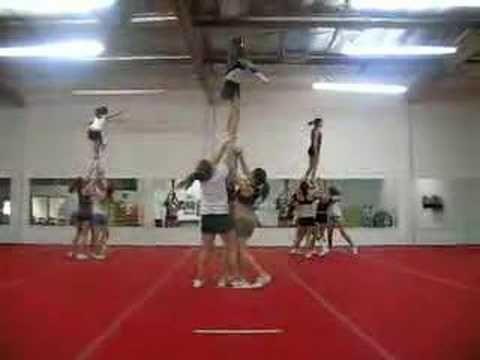 aztec all stars- junior level 4 stunts