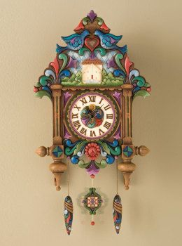 "Masterpiece Clock ""Old Time Tradition"" - Jim Shore Clock 4012470 