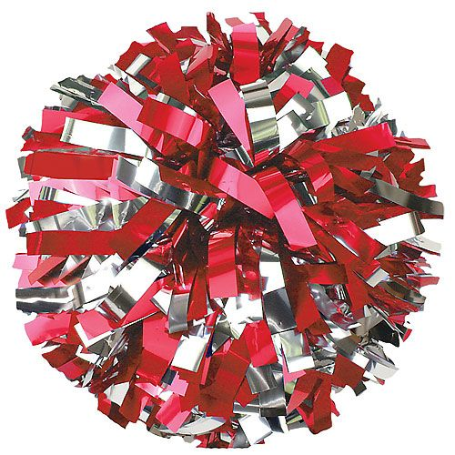In-Stock 2 Color Metallic Youth Pom available in 18 color combos