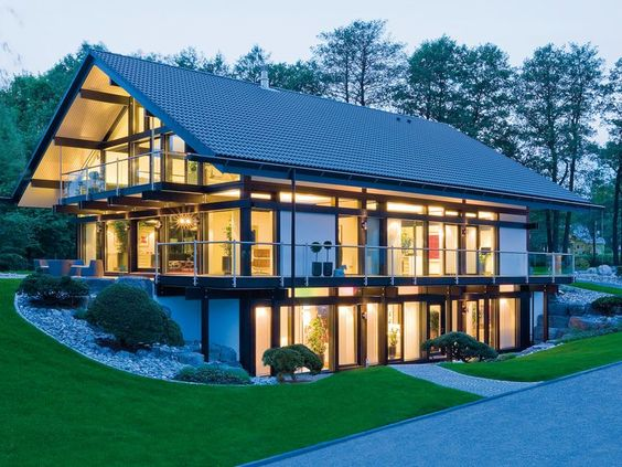 I'd like to be able to integrate glazing like this into the house I WILL build one day...