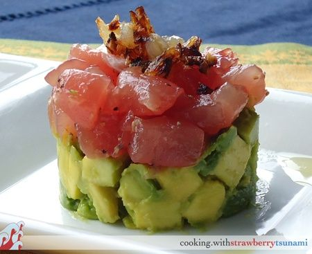 Ahi Tuna Tartare with Avocado