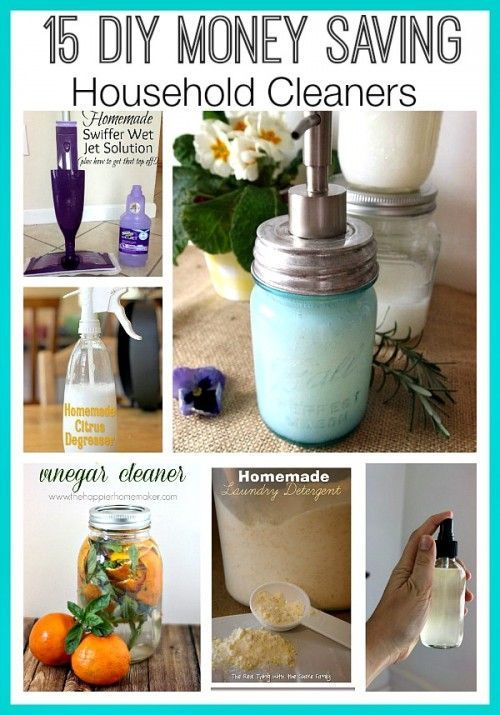 15 great diy money saving household cleaners homemade for Homemade products to save money