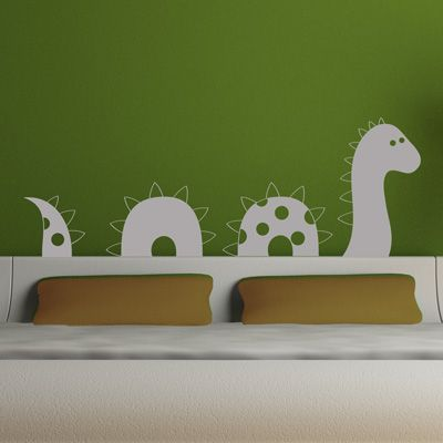 These wall decals are so charming!