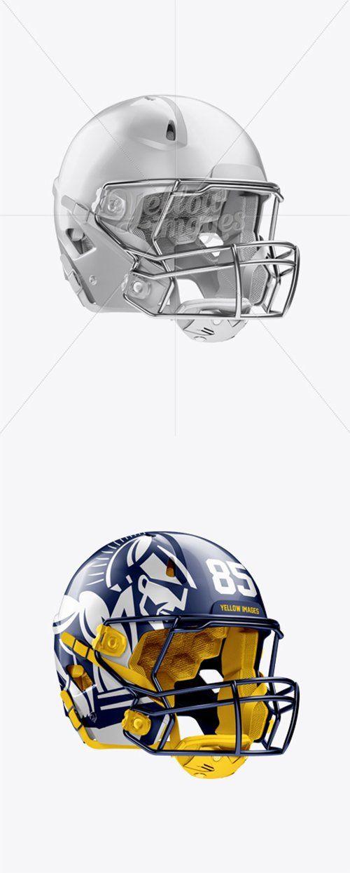 American Football Helmet Mockup Halfside View 11913 Tif Free Download Check More At Https Kingdomofsinces Com A Football Helmets American Football Football