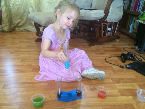 Lollipop lab experiment
