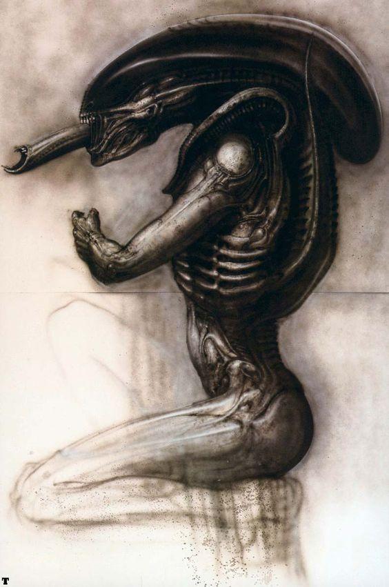 H R Giger, Alien