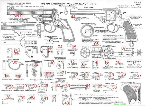 pistols revolvers and for sale on pinterest : revolver parts diagram - findchart.co