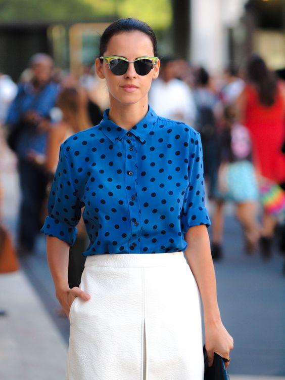 2013 Skirt: Asos/Shirt: c/o Joe Fresh