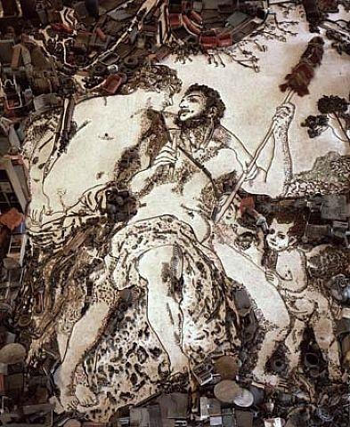 Vik Muniz, Hercules (From Pictures of Junk)
