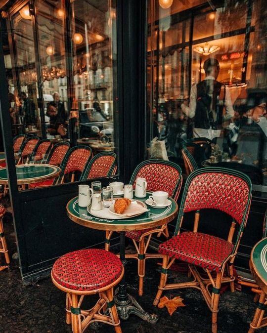 Cafe De Flore French Cafe Cozy Cafe Vintage Cafe