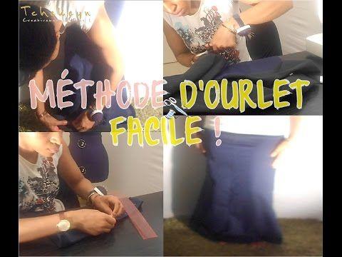 Tuto : Ourlet facile pour raccourcir jupes, robes, pantalons + hauts ! - YouTube