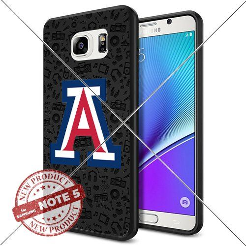 NEW Arizona Wildcats Logo NCAA #1027 Samsung Note 5 Black Case Smartphone Case Cover Collector TPU Rubber original by ILHAN [Music] ILHAN http://www.amazon.com/dp/B0188GQHS6/ref=cm_sw_r_pi_dp_ZajMwb04X2CE5