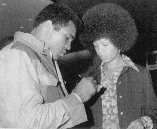 Muhammad Ali & Angela Davis: