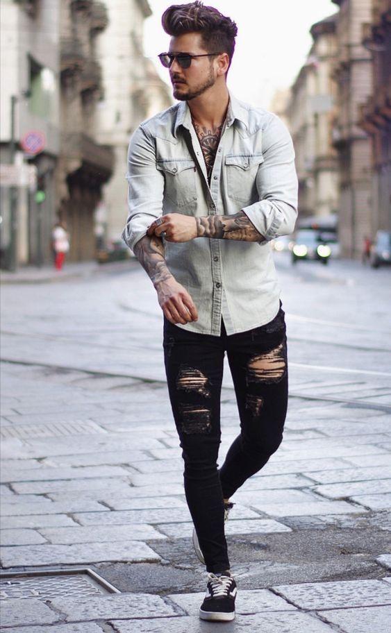 D A N N I Estilos De Moda Masculina Moda Ropa Hombre Combinar Ropa Hombre