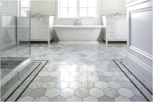 41 Unique Honeycomb Tile Floor Ideas Grey Bathroom Floor Bathroom Flooring Best Bathroom Flooring