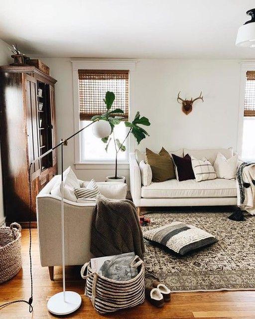Studio Floor Lamp Factory White In 2020 Simple Living Room Decor Cabin Living Room Decor Luxury Home Decor