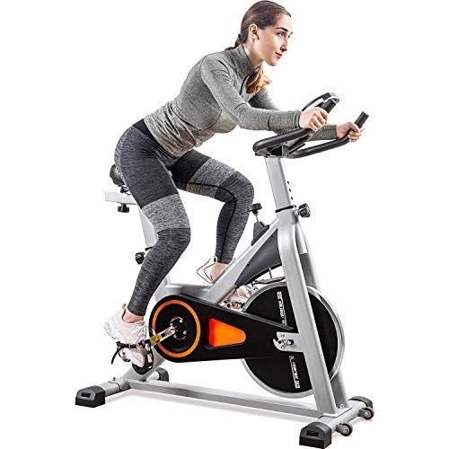 Merax Indoor Cycling Exercise Bike Cycle Trainer Adjustab Https