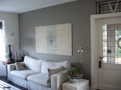 Vtwonen opzet riviera maison met ton model deurkruk van wallebroek living room pinterest - Grijze wand taupe ...