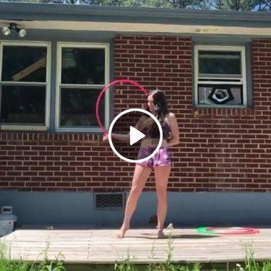Garota e Suas Habilidades de Rotação