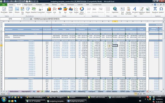Finance and Accounting Templates - Small business excel templates