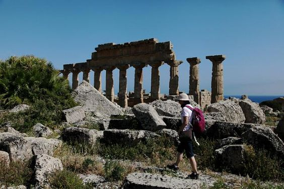 Ancient City of Selinunte Sicily