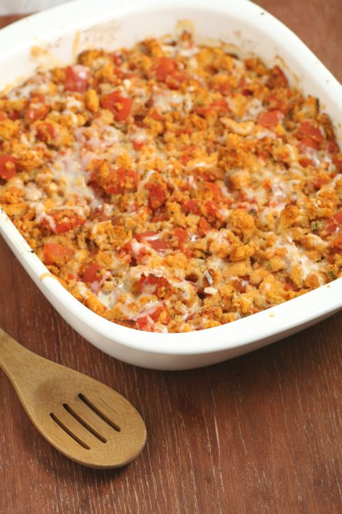 Bruschetta Chicken Bake is a quick and easy family dinner recipe ...