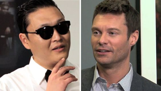 PSY Makes Ryan Seacrest Do Gangnam Style Dance | On Air With Ryan Seacrest