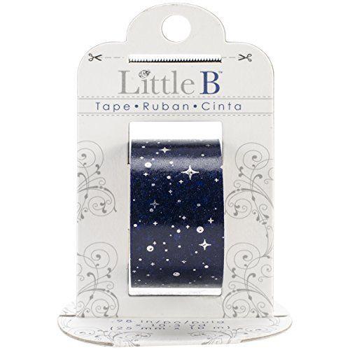 Little B 100440 Decorative Foil Paper Tape, Silver Starry Night Little B http://www.amazon.com/dp/B00KKV58NS/ref=cm_sw_r_pi_dp_96HHwb15T8ZKT