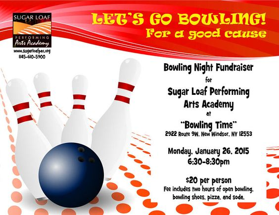 Bowling Night Fundraiser for Sugar Loaf Performing Arts Academy at ...
