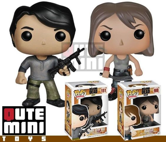 Funko Pop Amc The Walking Dead Prison Glenn And Maggie