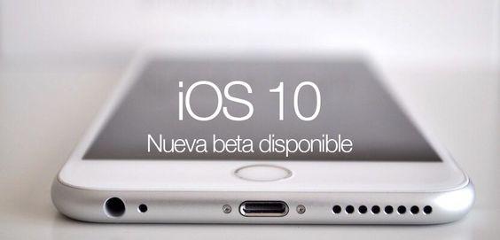 Apple lanza iOS 10 Golden Master para desarrolladores - http://www.actualidadiphone.com/apple-lanza-ios-10-golden-master-desarrolladores/