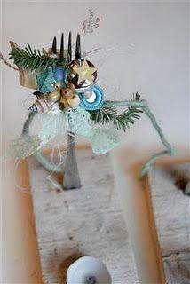 kerst-vorkstandaarden.   Voor tijdens het kerstdiner om een kaarsje/naam/menukaart/mooi bestek of een sjieke servet op te leggen...