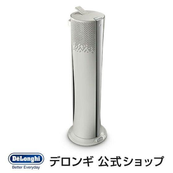 扇風機 デロンギ 縦型 タワー型 優しい風 空気清浄機