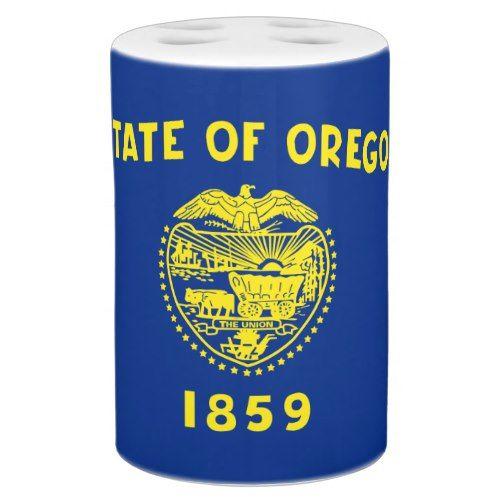 Patriotic Oregon State Flag Bath Set Zazzle Com Oregon State Flag State Flags Oregon State