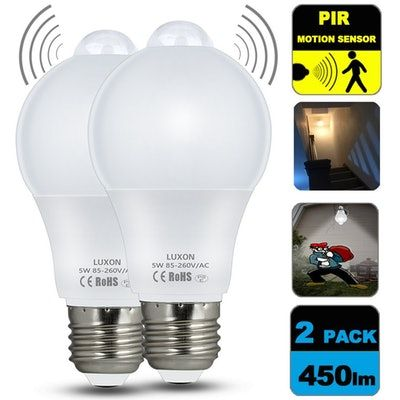 70 Things On Amazon Prime That Are Sick Af Motion Sensor Lights Light Sensor Solar Light Bulb