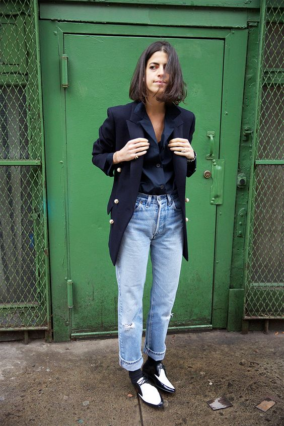 Man Repeller | 'mom jeans' trend report on blogandthecity.net: