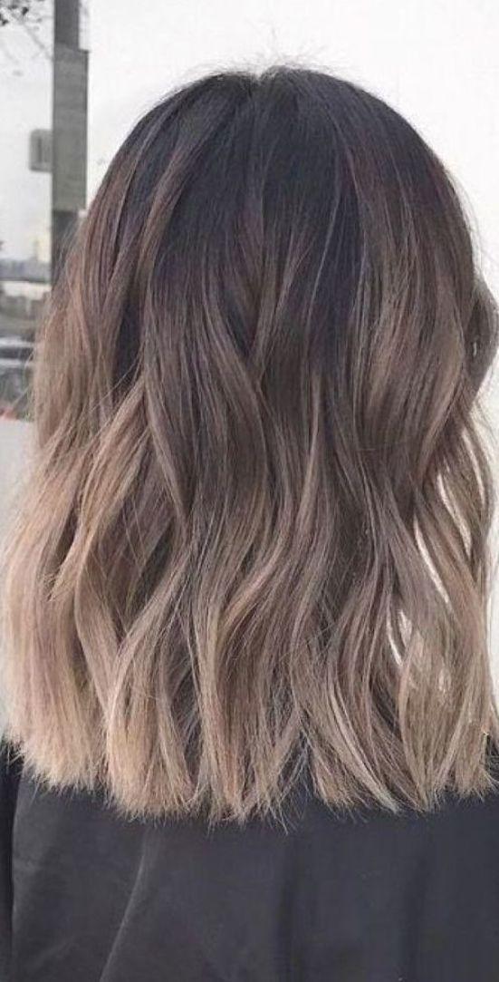 14++ Ash blonde ombre on dark hair trends