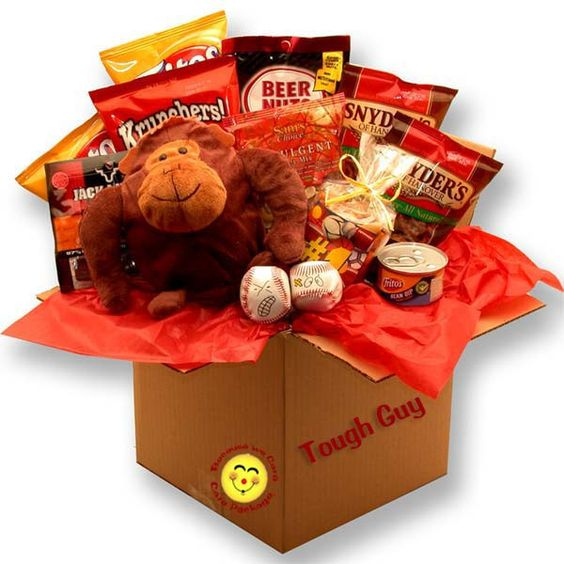 TOUGH GUYS SNACK CARE PACKAGE
