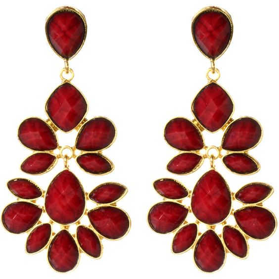 Nello Earring ($100) ❤ liked on Polyvore