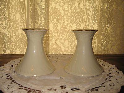 VTG set 2 Crown Classics WHITEHALL Porcelain Candlesticks 18kt Gold Japan EUC @eBay! http://r.ebay.com/bPkstk #auction #SALE LOOK! #bid #watch 7 day auction HAVE A LOOK! (July 20th 2013)