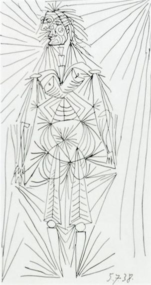 Pablo Picasso, Standing Female Figure