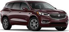 2020 Buick Enclave Gets New Rich Garnet Metallic Color First Look The New Red Hue Is Only Available On The Range Toppin In 2020 Buick Enclave Metallic Colors Buick